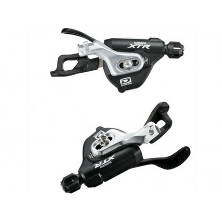 Shifter levers Shimano XTR SL-M980 2/3x10-sp DIRECT ATTACH left+right