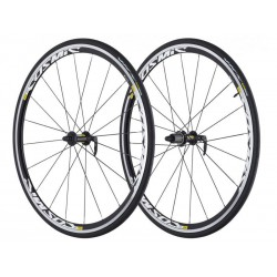 Wheelset Mavic Cosmic Elite S WTS + tyres for Shimano colour black
