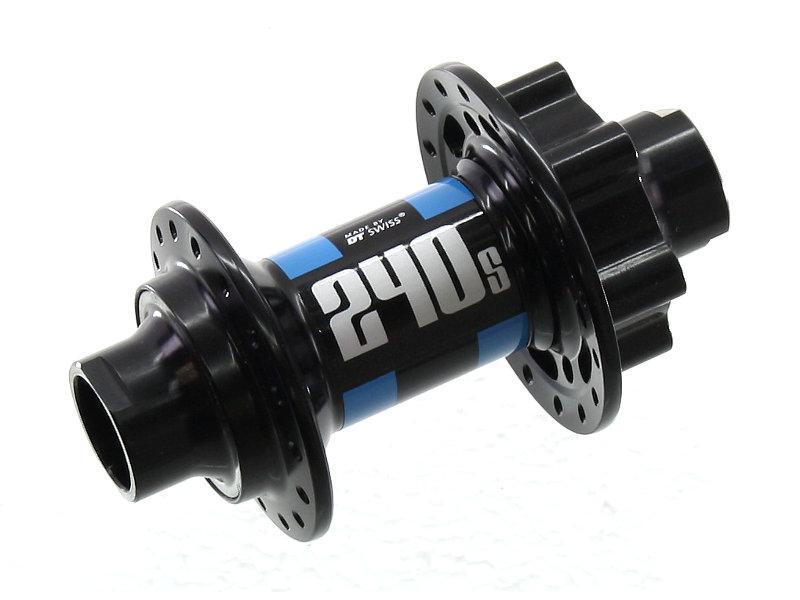 Hub front DT Swiss 240 S Disc,6-bolt,32-spoke,20mm axle