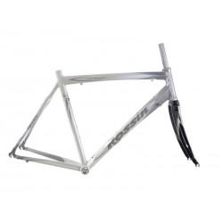 Rama rowerowa Rossin Omega + karbonowy widelec, rozmiar 56cm