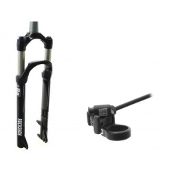 Suspension fork MTB 27,5 Rock Shox 30 Gold TK Solo Air ,TAPERED,Poploc 100mm