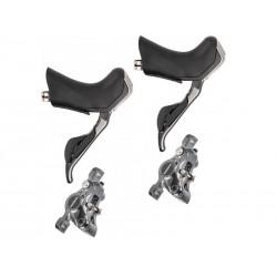 shifter-brake levers Shimano ST-R785 Di2 2x11 + rotor brakes BR-R785 set front +rear