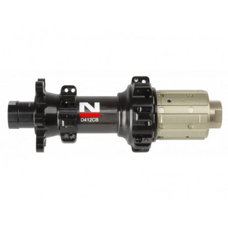 Hub rear Novatec D412CB Carbon Ultralight Disc,6-bolt,28-spoke,12x142mm axle