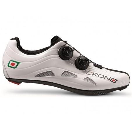 """Cycling shoes road Crono Road Futura  Carbon white size 43"""
