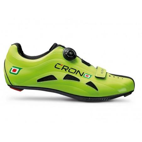 "Cycling shoes road Crono Road Futura Carbon green size 41"""