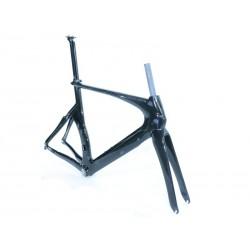 Rama rowerowa karbonowa Scoppio SCTT 211.1 + widelec karbonowy r. 52cm