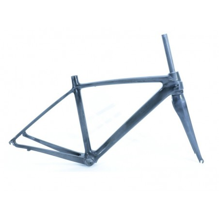 Road frame set , full-carbon  Scoppio SCL 331.1+full carbon fork-size 50cm-L-raw-colour and decals for extra cost