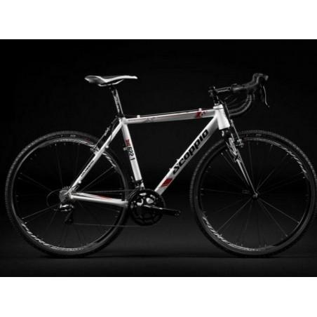 Cyclocross frame , Al  Scoppio SCX 621.1-size 53cm-M-white-black