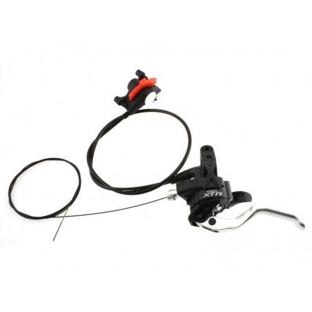 Shifting-brake lever SHIMANO XTR ST-M975  Dual Control Shifter- Disc front