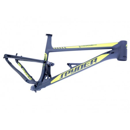 """Rear-suspension carbon  frame MTB 29"""" Spyder Painter Alu 7005 Double Butted-Ultralight ,raw-w/o colour and finish,size 16"""