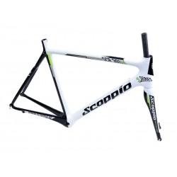 Rama rowerowa carbon Scoppio SCR 301.2 + widelec 50cm-S