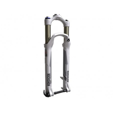 Suspension fork MTB 27,5'' Rock Shox Reba RL Solo Air, 15mm spindle,Poploc 100mm