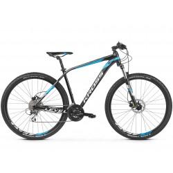 Rower KROSS 27,5 LEVEL 2.0 Męski M czar-nieb-biał poł. 2019