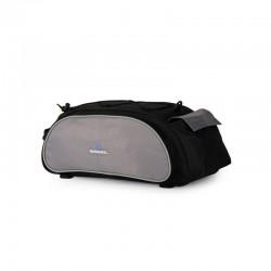 Sakwa na bagażnik ROSWHEEL 13L z paskiem, czarna