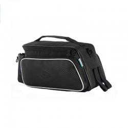 Sakwa na bagażnik ROSWHEEL 10L z paskiem, 39x17x15, czarna