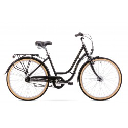 Rower 28 ROMET ORION 7S 7 biegowy czarny ver.2