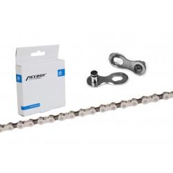 Łańcuch ACCENT AC-801 8-rzędowy sreb-brąz