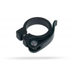 Obejma podsiodłowa PRO 31,8mm z zaciskiem czarna