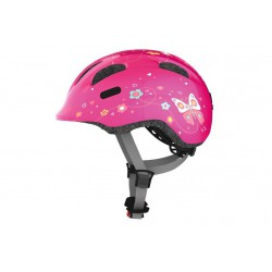 Kask ABUS SMILEY 2.0 pink butterlfy S 45-50cm różowy