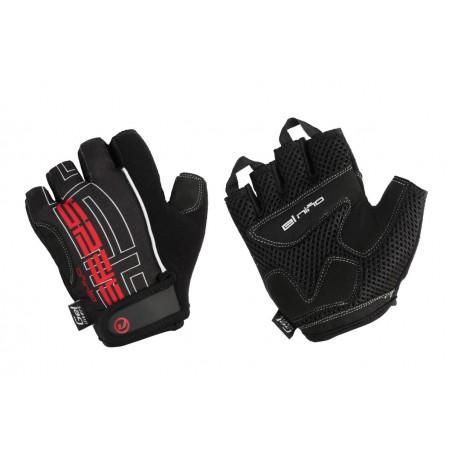 Rękawiczki ACCENT  EL NINO czarno-czerwone L