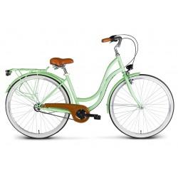 Rower 28 VELLBERG MyWay stal. 3 biegi NEXUS, miętowy mat