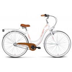 Rower 28 VELLBERG MyWay stal. 3 biegi NEXUS, biały mat