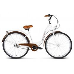 Rower 28 VELLBERG Madame NEXUS 3 biegi biały+ brązy