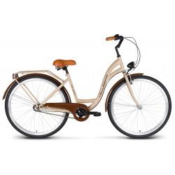 Rower 28 VELLBERG Madame NEXUS 3 biegi kawowy + brązy