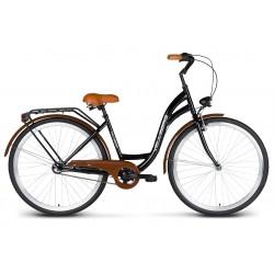 Rower 26 VELLBERG Madame NEXUS 3 biegi czarny + brązy