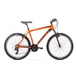 Rower 26 ROMET RAMBLER R6.0  pomarańczowo-czarny
