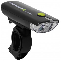 Lampa przednia MERIDA 2 LED czarna HL-MD050