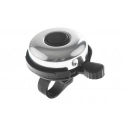 Dzwonek Alu-Plast czarno-srebrny połysk 45mm
