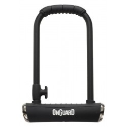 Zamknięcie ONGUARD PitBull STD 8003X X-series U-LOCK - 14mm 115mm 230mm - 5 x Klucze z kodem CZARNE