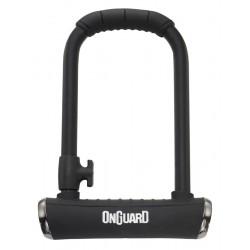 Zamknięcie ONGUARD Brute STD 8001X X-series U-LOCK - 16,8mm 115mm 202mm - 5 x Klucze z kodem CZARNE