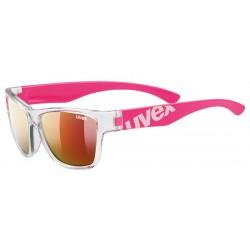 Okulary dziecięce UVEX Sportstyle 508 - różowe
