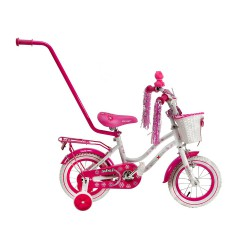 Rower 12 MEXLLER SISI biał/róż.  897
