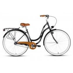 Rower 28 VELLBERG MyWay stal. Eco czarny mat