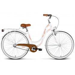 Rower 28 VELLBERG MyWay stal. Eco, biały mat