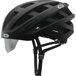 Kask ABUS IN-VIZZ ASCENT velvet black L 58-62cm czarny