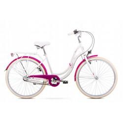 Rower 1926191-19 Romet Angel 3 perłowo-różowy L
