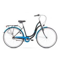 Rower 1928196-17 Romet Angel 3 czarno-niebieski ver 3 M