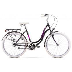 Rower 1928197-17 Romet Angel 3 czarno-różowy ver 4 M