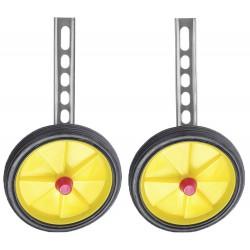 Kółka pomocnicze uniwersalne 12-20 S żółte