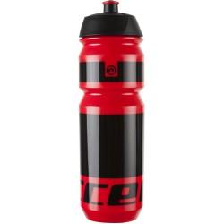 Bidon 0,75L ACCENT PEAK czerwono-czarny