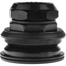 "Stery 1 1/8"" NECO H-128 gwint półzintegrowane czarne"