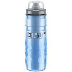Bidon 500ml ELITE Ice Fly blue termos niebieski BPA free