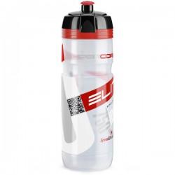 Bidon 750ml ELITE Super CORSA transparent-czerwony BPA FREE
