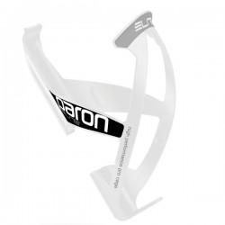 Koszyk bidonu towrzywo ELITE PARON RACE biały 40g