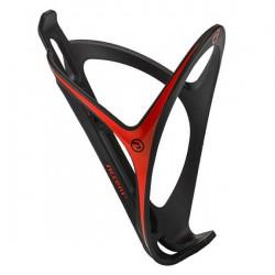 Koszyk bidonu ACCENT Smart plast. czarno-czerwony