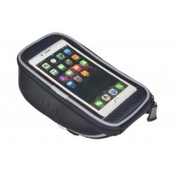 "Sakwa na smartfon 5,5"" EXTOL na kierownice, czarna"